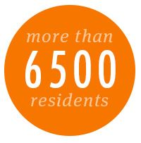 6500 Residents Button