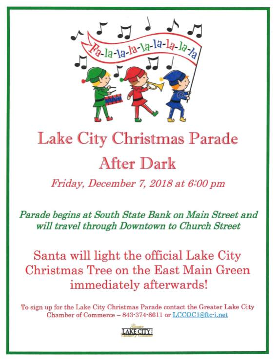 12.7.2018 Annual Christmas Parade