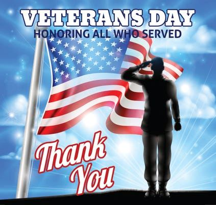 National Veterans Day Holiday  11.11.2019