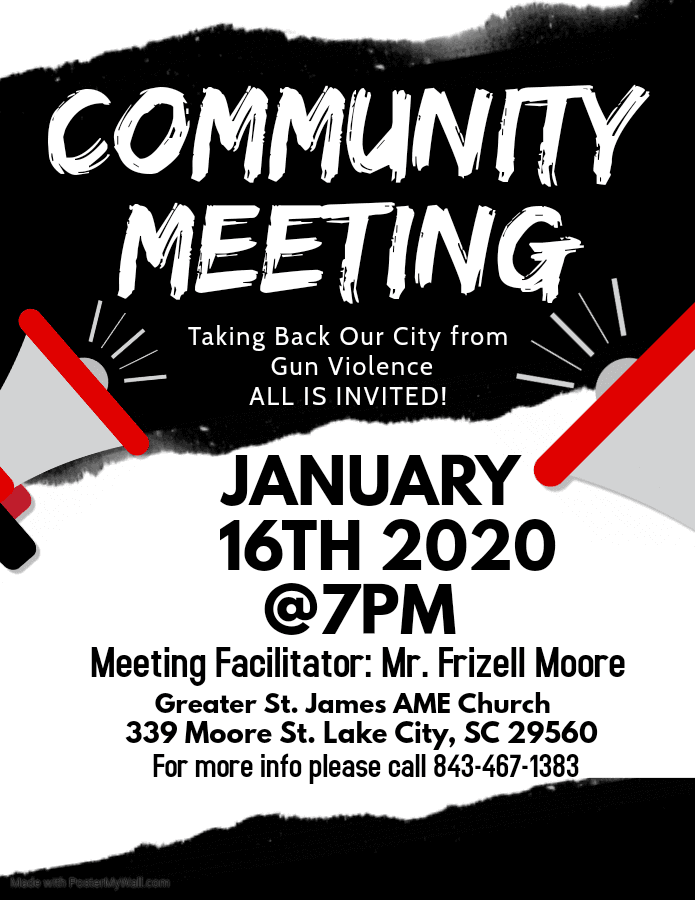 Community Meeting  1.16.2020