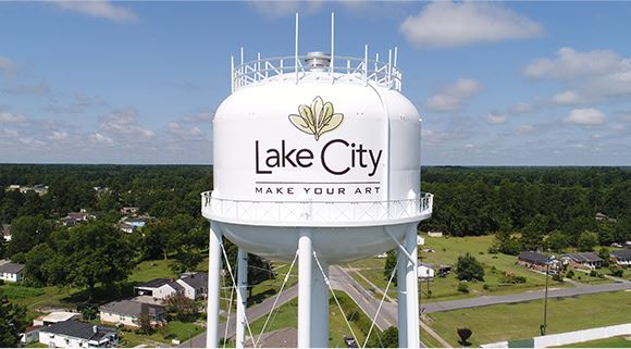 Lake City watertower